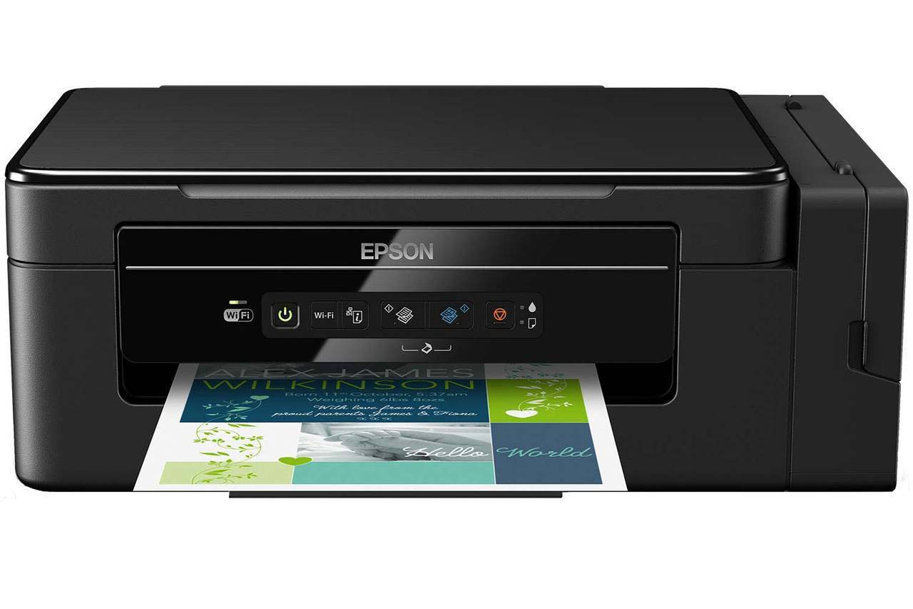 Epson Wireless Inkjet All-in-One Printer | ET-2600
