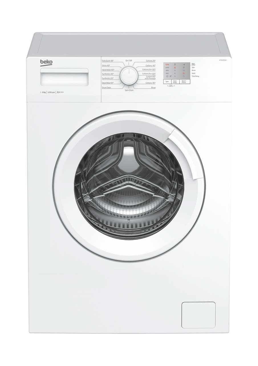 Beko 6kg 1200rpm Washing Machine | WTG620M1W