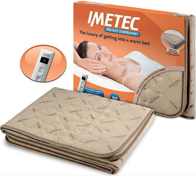 Imetec Premium Heated Underblanket   Single