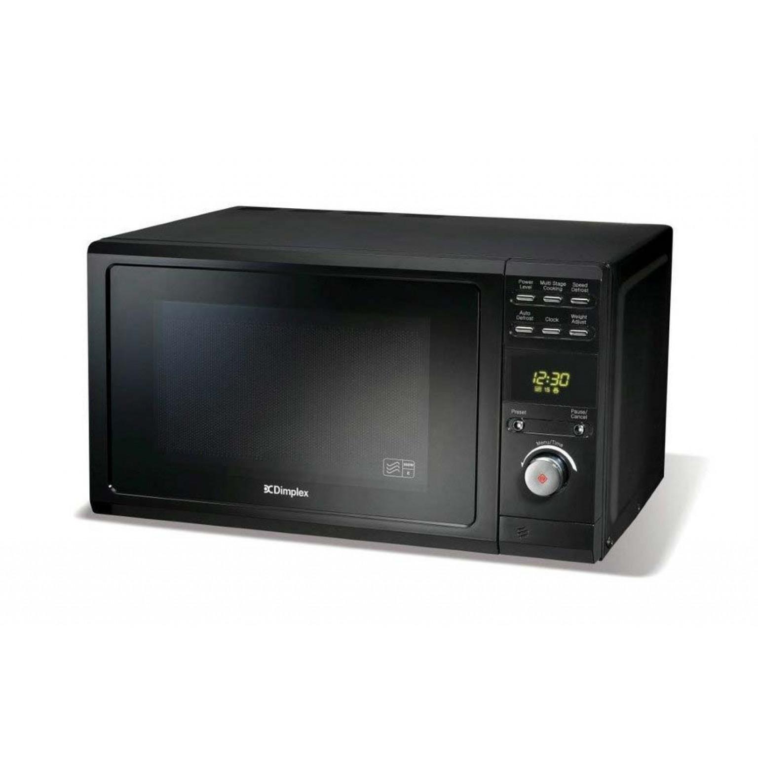 Dimplex 20 Litre 800W Black Microwave   980536