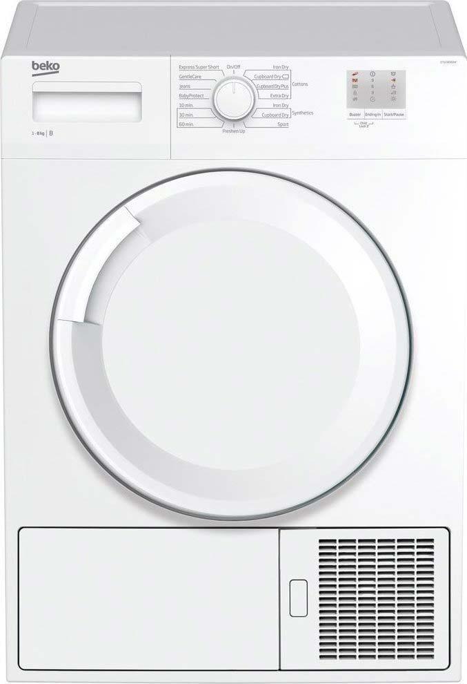 Beko EcoSmart 8Kg Condenser Dryer | DTGC8000W