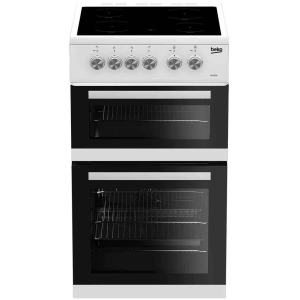Beko 50cm Electric Cooker  | KDVC563AW