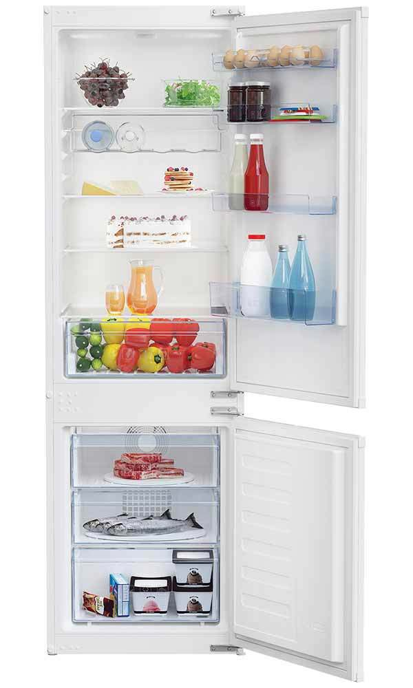 Beko Integrated Frost Free Fridge Freezer | BCFD173