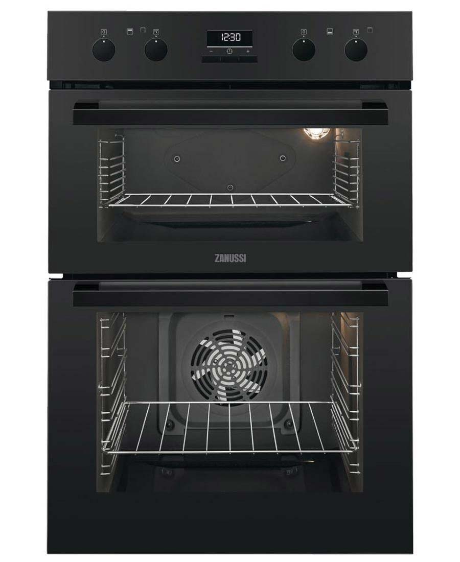 Zanussi Built-In Electric Double Oven | ZOD35802BK