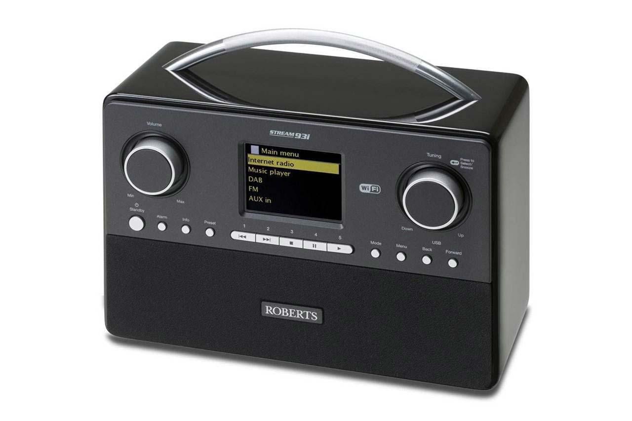 Roberts Internet Portable Radio | STREAM93i