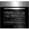 Beko Integrated Fan Oven & Ceramic Hob   BSF210SX