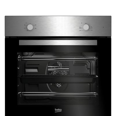 Beko Integrated Fan Oven & Ceramic Hob | BSF210SX