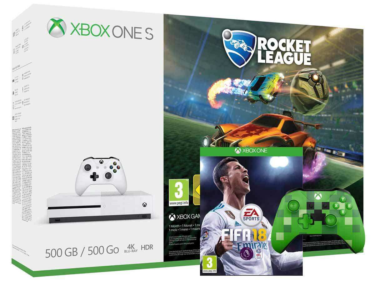 Xbox One 500GB | FIFA 18 Bundle