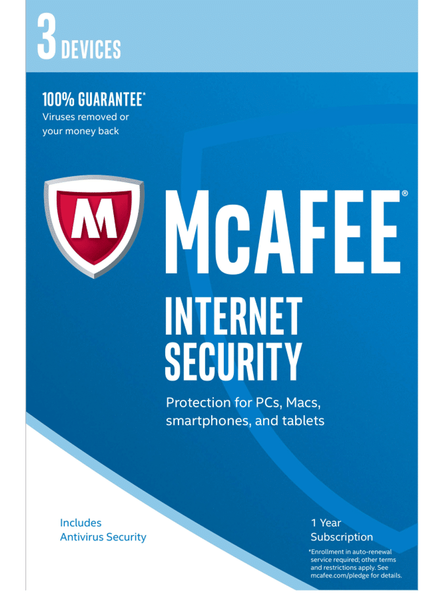 McAfee Internet Security | 3 Device