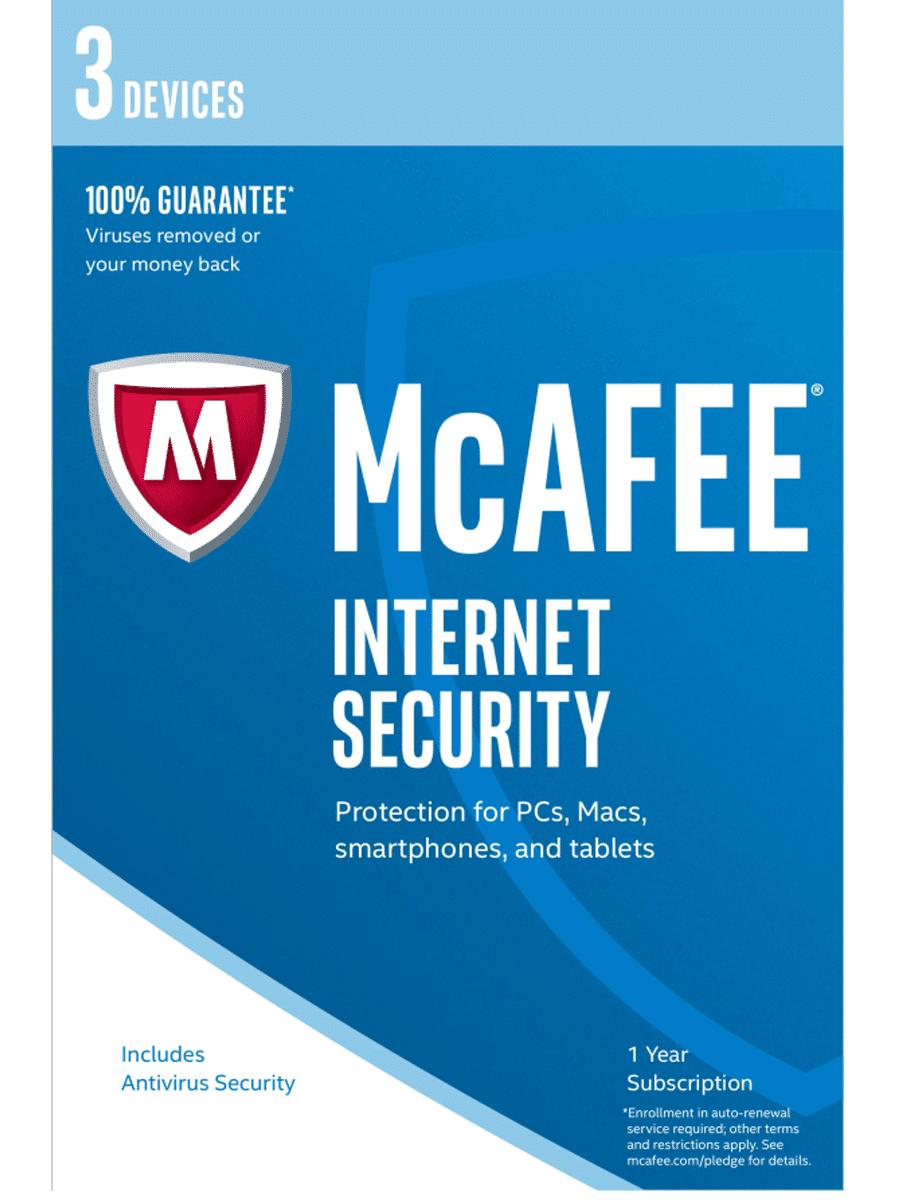 McAfee Internet Security | 3 Device