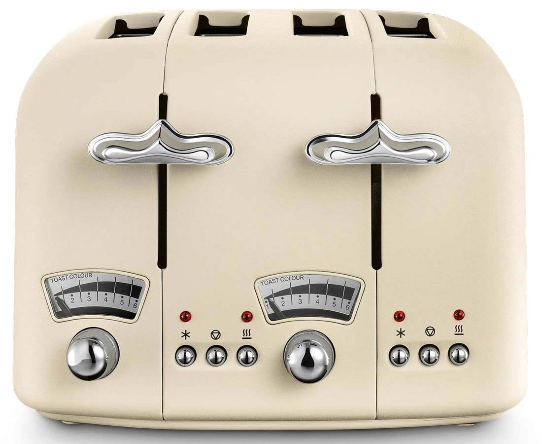 DeLonghi Argento Toaster | CT04.BG
