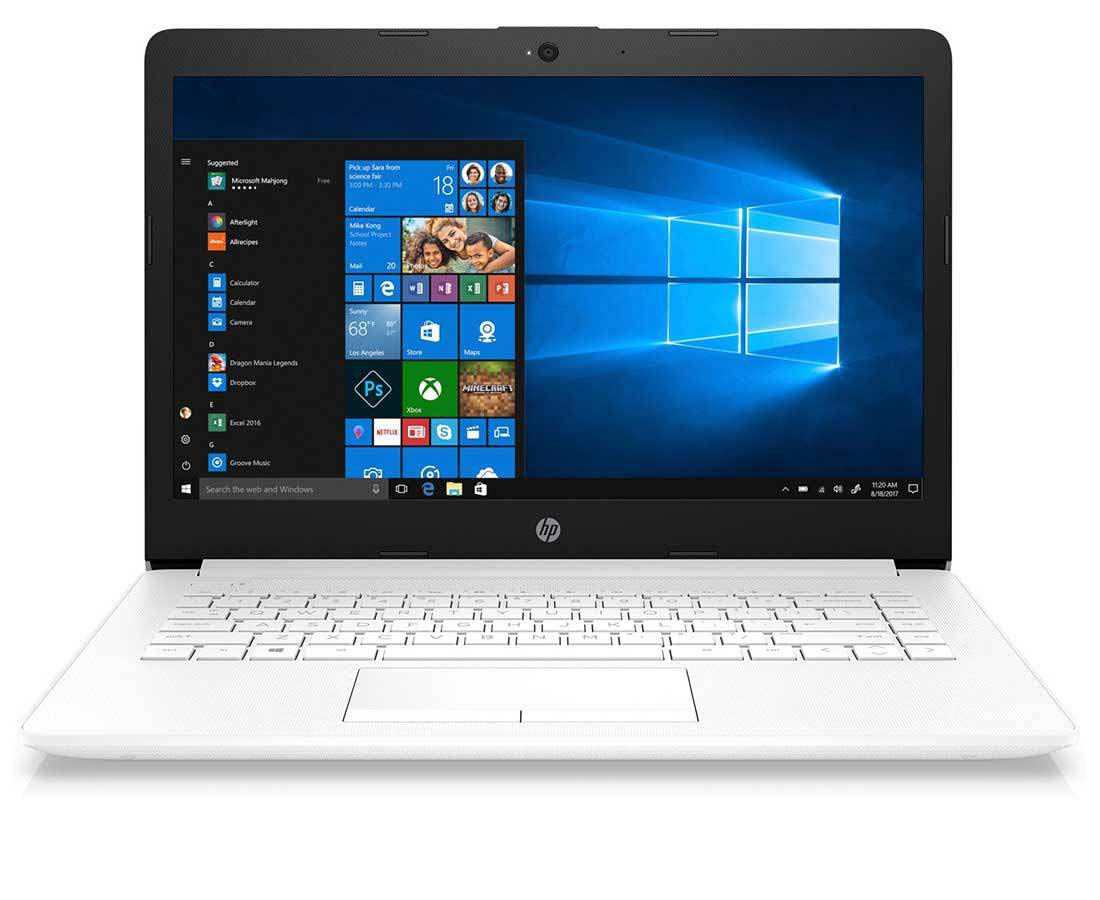 "HP 14"" Core i3 White Laptop 