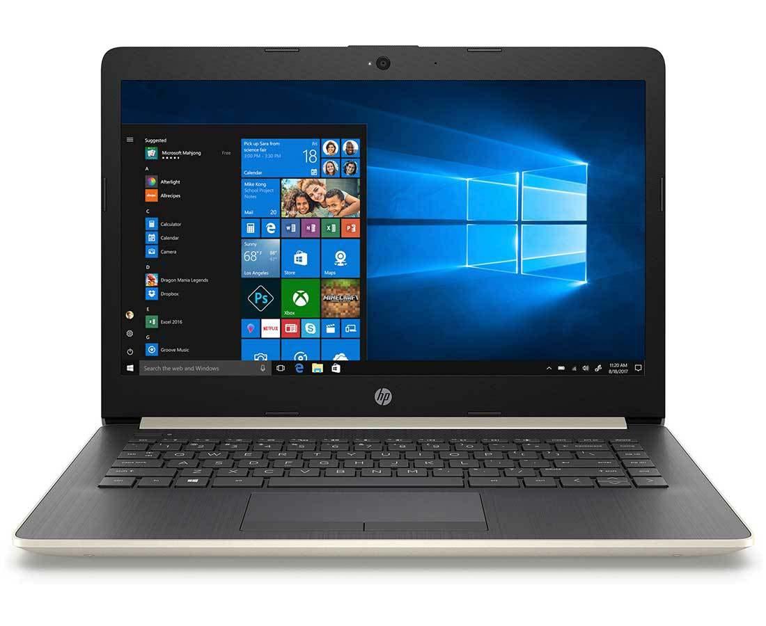 "HP 14"" Core i5 Gold Laptop | 14-CK0993NA"
