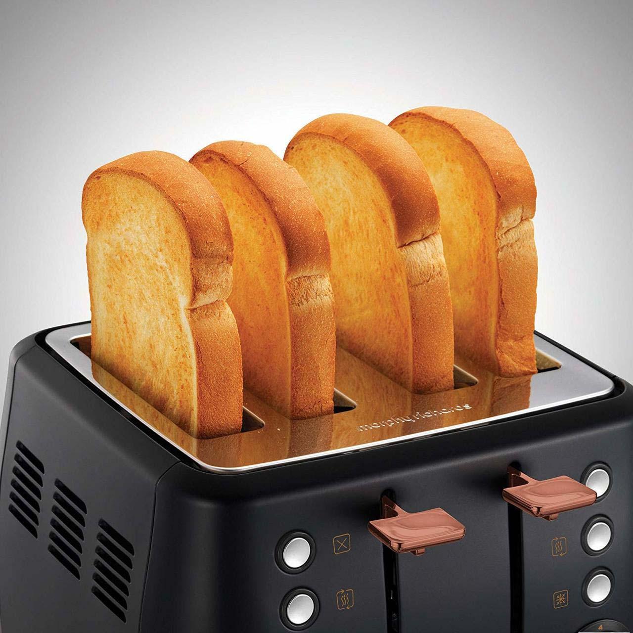 Morphy Richards Evoke 4 Slice Toaster   240114