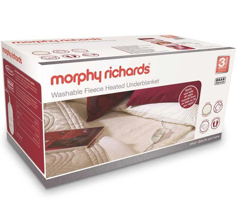 Morphy Richards Fleece Heated Underblanket | Double