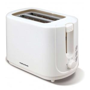 Morphy Richards 2 slice white toaster 980505