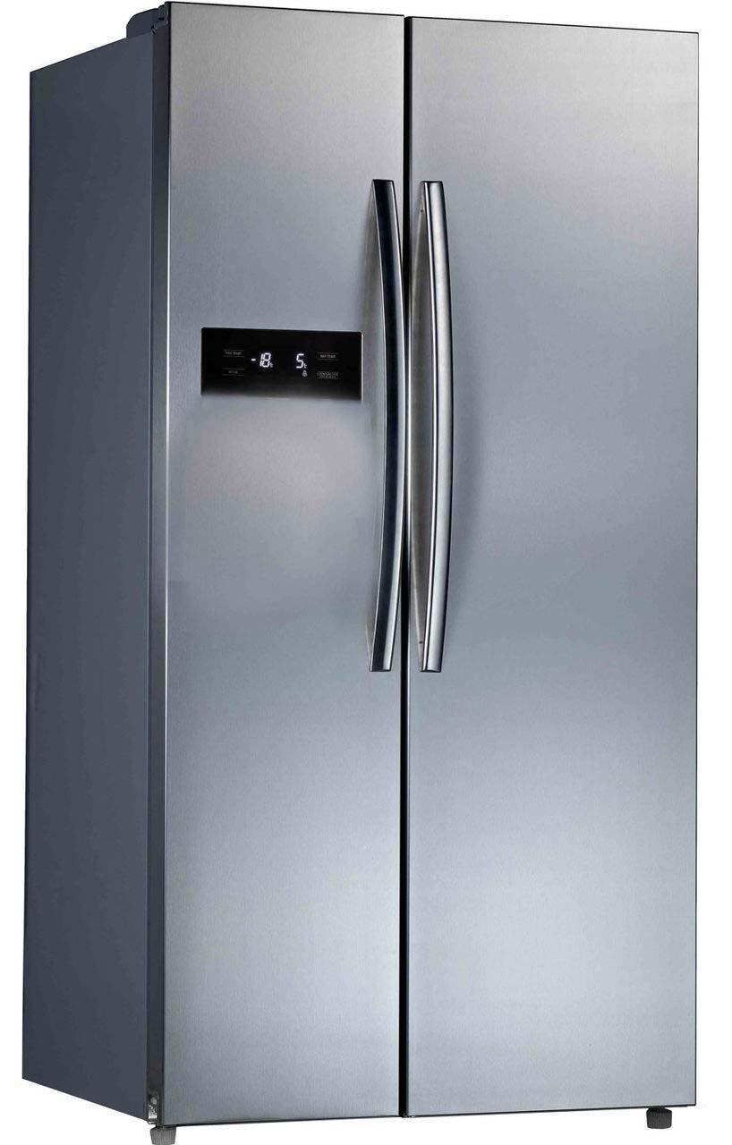 Belling BAFF526SS American Style Frost Free Fridge Freezer