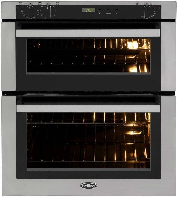 Belling Stainless Steel Electric Double Oven BI700FPSTA