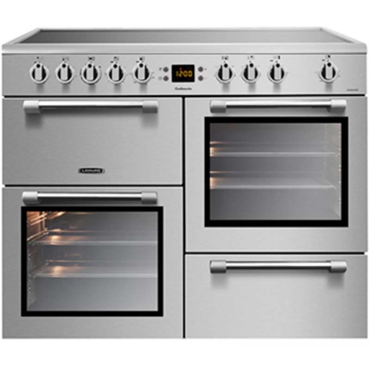 LEISURE 'Cookmaster' 100cm Electric Range Cooker CK100C210X