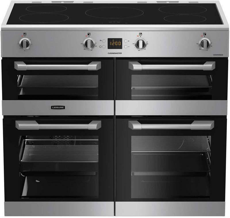 LEISURE 'CuisineMaster' 100cm Induction range cooker CS100D510X