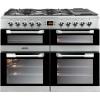 LEISURE 'Cuisinemaster' 100cm Dual Fuel Range Cooker CS100F520X