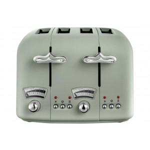 DeLonghi Argento Flora Toaster   CT04.CR