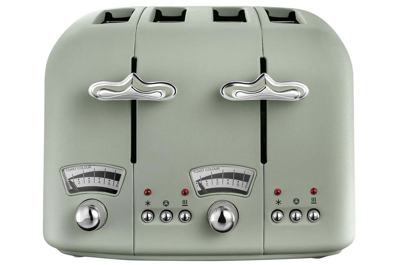DeLonghi Argento Flora Toaster | CT04.CR