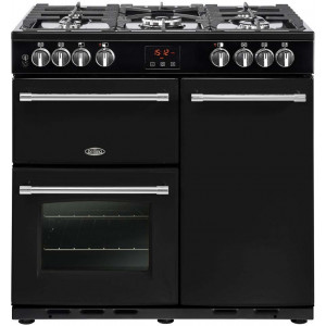 Belling 'Farmhouse' 90cm Range Cooker Dual Fuel FH90DFT