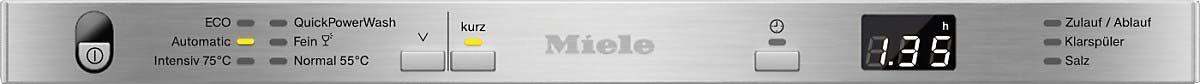 Miele 6 Place Slimline Dishwasher   G4780SCVi