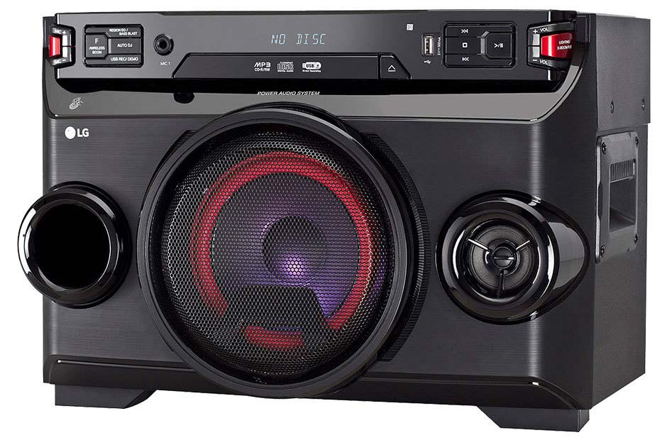 LG 160W Compact Party Speaker | OM4560