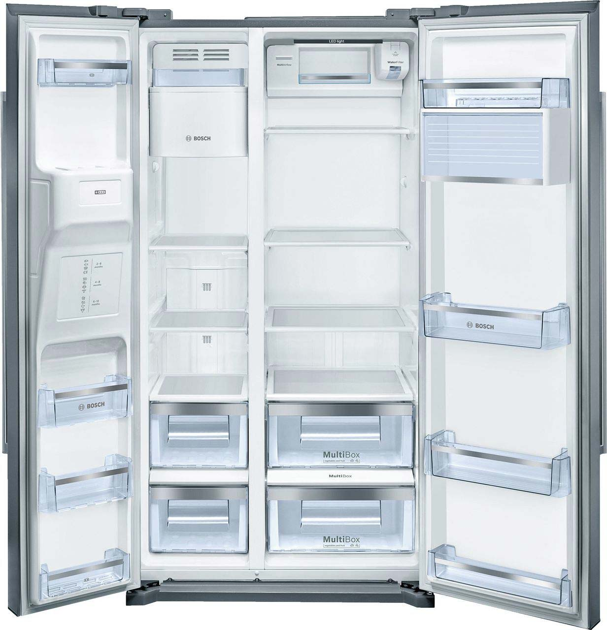Bosch Serie 6 American Fridge Freezer | KAD90VI20G
