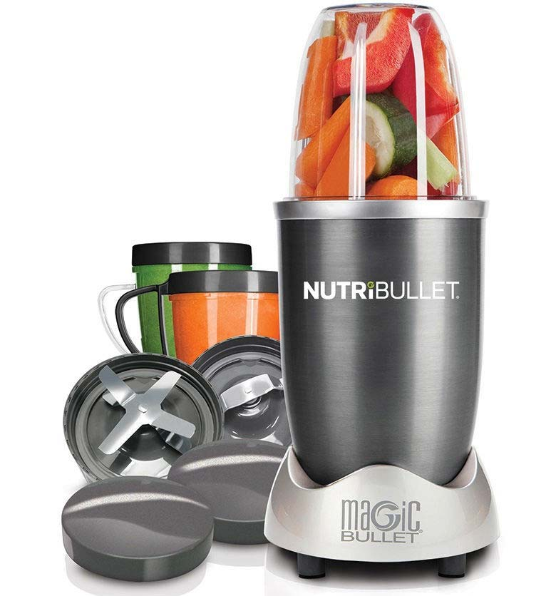 NutriBullet 600 nutrient extractor in graphite NBL8