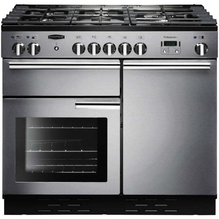Rangemaster Professional+ 100 Dual Fuel Range Cooker PROP100DFF