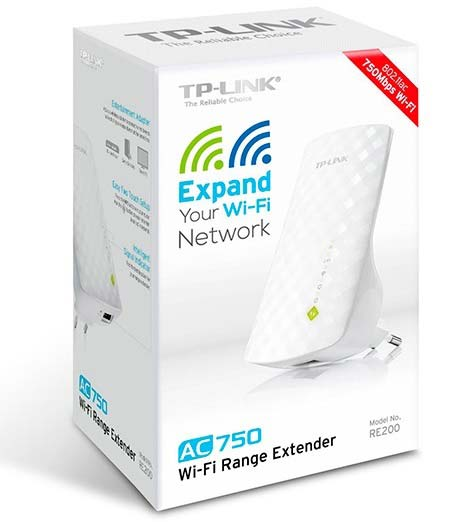TP-Link Dual Band Wireless Range Extender | RE200