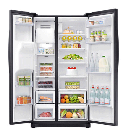 Samsung NoFrost American Fridge Freezer | RS50N3413BC
