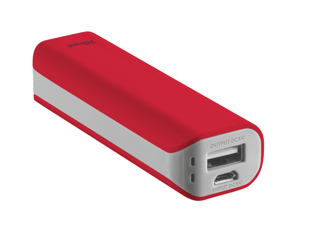 Trust 2200mAh USB Powerbank (Red)