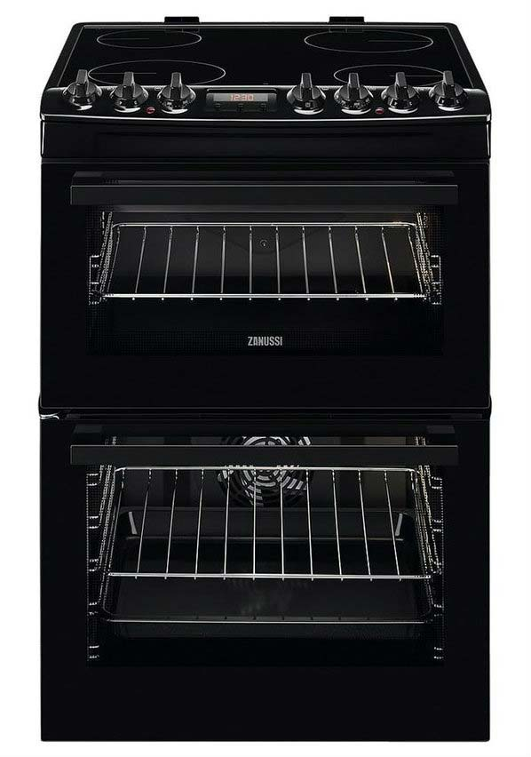 Zanussi 60cm Electric Cooker | ZCV69350BA