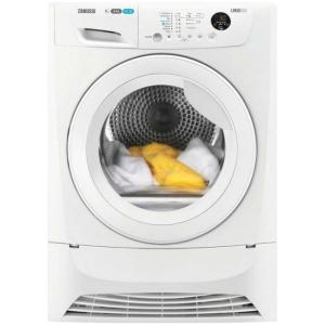 ZANUSSI 8kg Condenser Tumble Dryer in White ZDC8203WZ