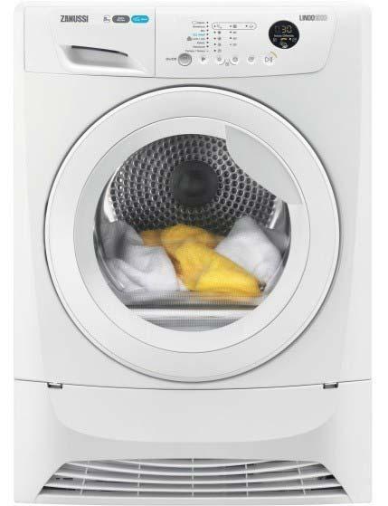Zanussi 8Kg Heat Pump Condenser Dryer | ZDH8333PZ