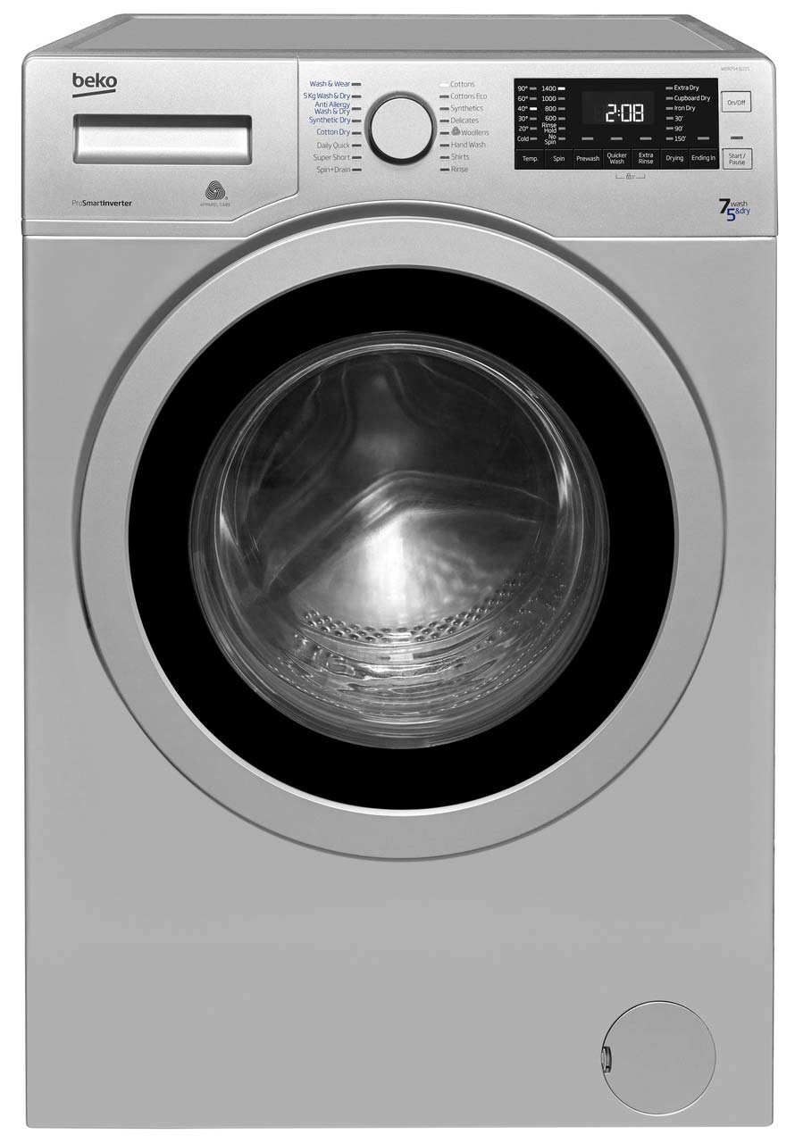 Beko 7Kg/5Kg Washer Dryer | WDR7543121S