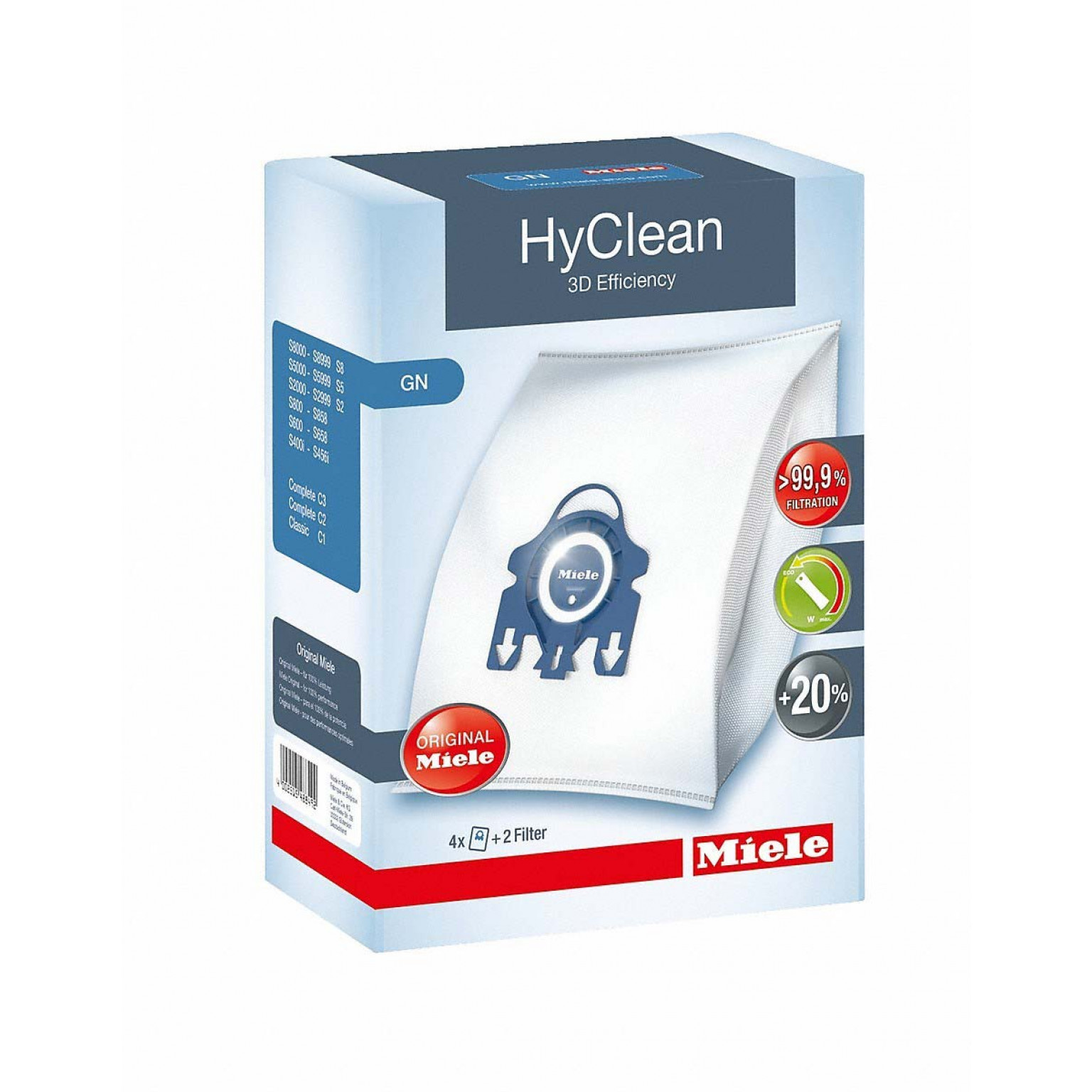 Miele HyClean 3D Efficiency GN Dustbags | 488492