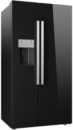Beko Freestanding American Style Fridge Freezer | ASP341B