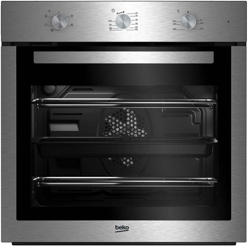 Beko EcoSmart Single Fan Oven in stainless steel BIF16100X