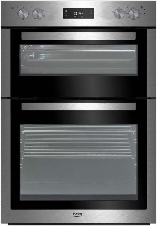 Beko 60cm Double Fan Oven | BDF26300X