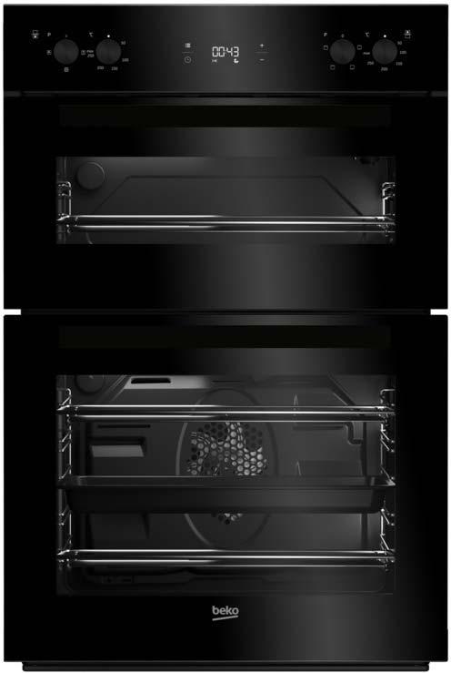 Beko 60cm Double Oven | BDF22300B