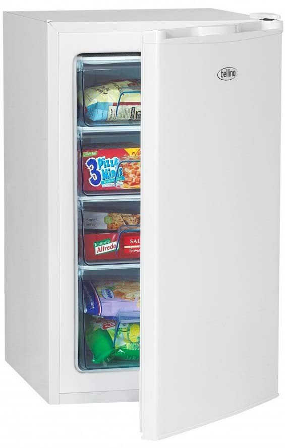 BELLING 50cm Under Counter Freezer in White BFZ68WH