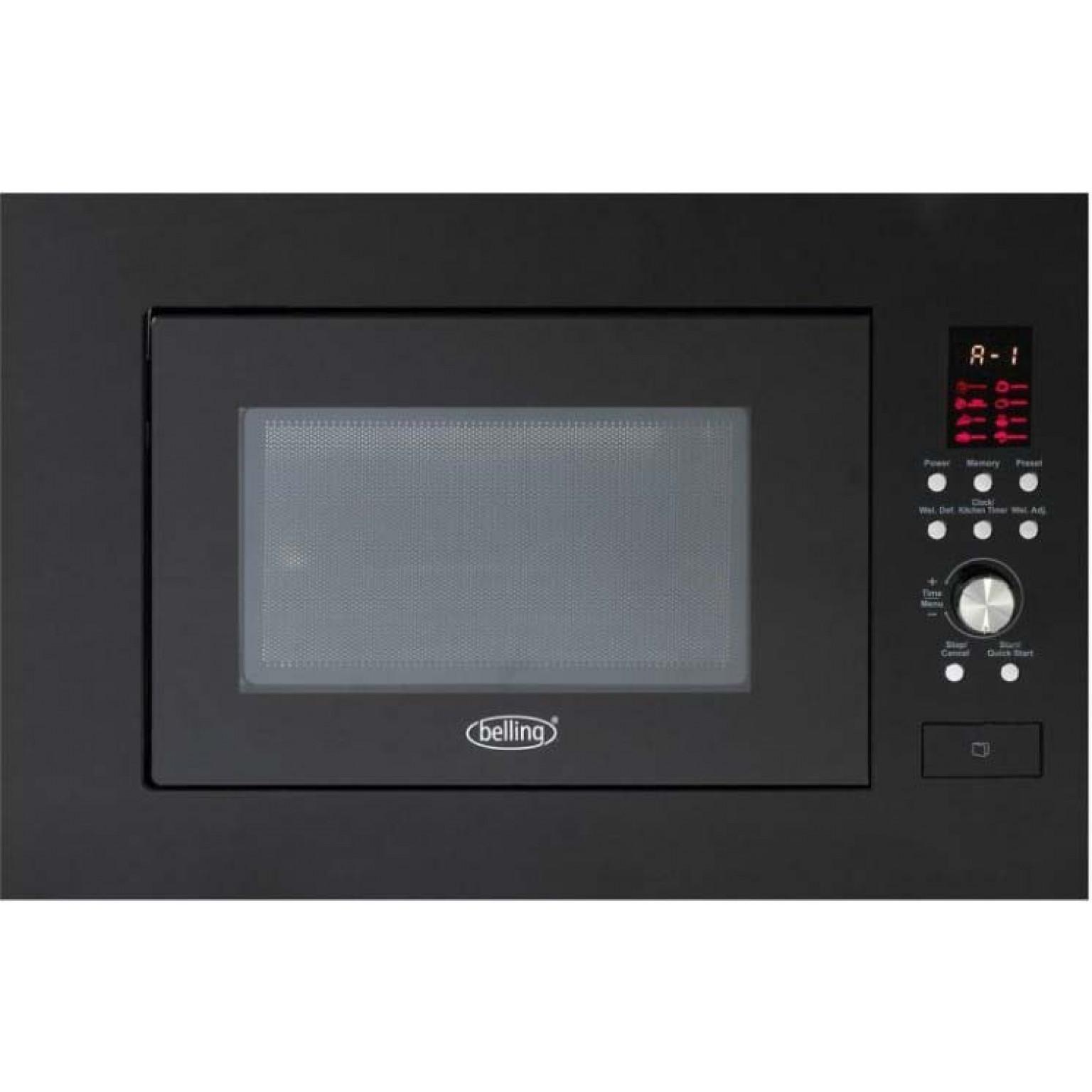 BELLING Built in microwave in Black BIM60BLK