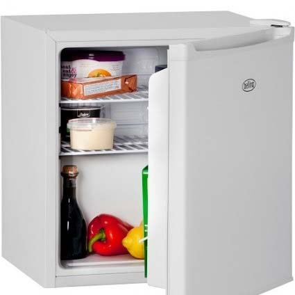 Belling Table Top Fridge in white BL45WH