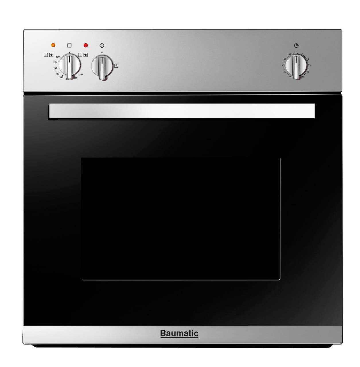 Baumatic 60cm Gas Oven | BO610.5SS