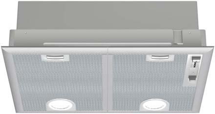 Bosch 53cm Canopy Cooker Hood | DHL555BGB